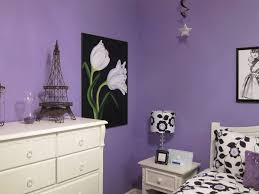 Purple Themed Bedroom Yellow And Purple Themes In Teenage Girls Room Decor Crave