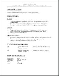 Best teenage resume