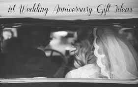 first wedding anniversary gift ideas