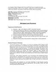 Mortgage Loan Officer Sample Jobtion Finance Modern Best Resume