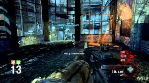 cod black opswaw zombies map der riese level  gameplay