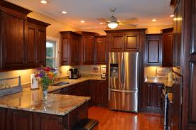 Custom Kitchen Furniture Kitchen Wonderful Custom Kitchen Glazed Cabinets Ideas With