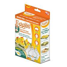 Яйцеварка   Формы для варки яиц без скорлупы Eggies купить ...