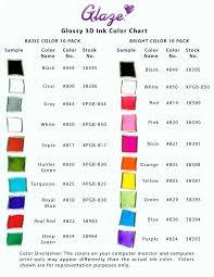 Sakura Poster Color Chart Sakura Of America