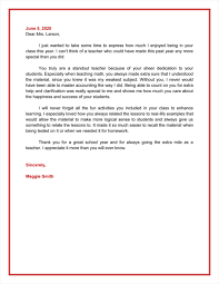 Letter Of Recognition Examples 15 Best Appreciation Letter Samples And Email Examples