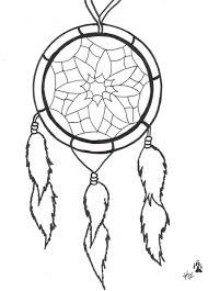 Dream Catcher Tattoo Stencils Again dream catcher tattoo design 14