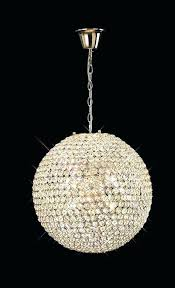 chandeliers crystal globe chandelier pendant light ball hanging lamp with a the golden range features glorious