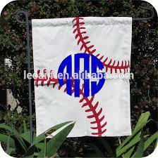 baseball family new arrival monogrammed baseball garden flag