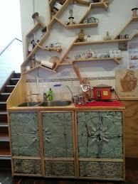 pressed metal furniture. Pressed Tin Kitchen Cupboards. Interesting. Metal Furniture E