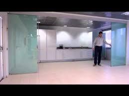 klein extendo telescopic glass doors