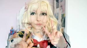yui komori cosplay make up diabolik easy doll make up