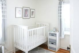 Nursery with white furniture Baby Light And Airy Baby Nursery With Gray White Color Scheme Tiny Grey Curtains Modern Gray And White Nursery Grey Accessories Qualitymatters Canton In Grey Piece Nursery Furniture Set Gray And White Star