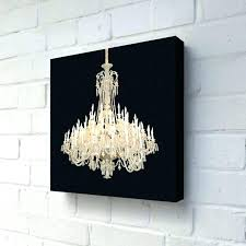 chandeliers chandelier canvas art painting grand black modern still life view of