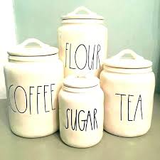 white kitchen canister set ceramic canisters black and anchor hocking 4 piece glass kitchen canisters