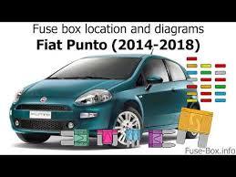 fuse box location and diagrams fiat Fiat Punto Fuse Box Schematic Ford Fuse Box Diagram