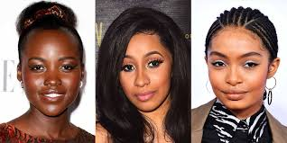 here s the best makeup hack we learned this year from marsai martin and yara shahidi s makeup artist style bet
