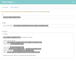 Application For Leave To Manager Request For Leave Taskflow Kotive