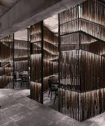 Yiduan Shanghai Interior Design Sets Up A Restaurant From Bamboo Boxes Inspiration Interior Design Shanghai