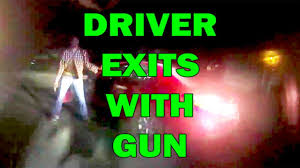 driver exits car chambers round and pulls on deputy leo round table episode 595