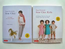 happy homemade sew chic sew chic kids a couple more anese sewing pattern books