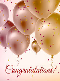 Congratulations Are In Order And These Pearl Balloons Send