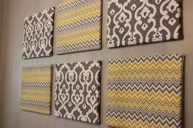 diy canvas fabric wall art