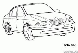 Coloriage Bmw Cabrio