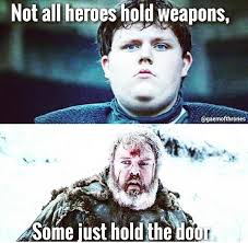 hold the door memes from game of thrones prove fans are gutted about this loss