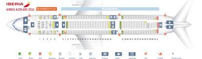 Airbus Seating Chart