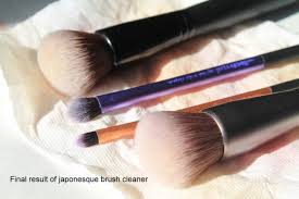 onesque makeup brush cleanser