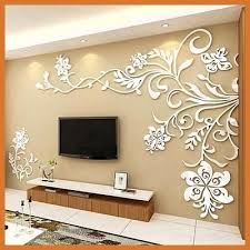 acrylic background wall stickers