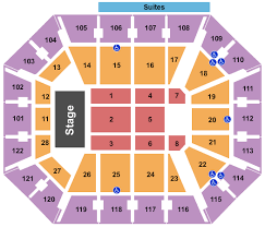 Mohegan Sun Pocono Seating Chart Mohegan Sun Arena Seating Chart Rows Seat Numbers And