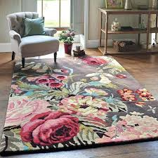 home and furniture gorgeous pink fl rug on blush flower area light 8 rugs brown blue rugs brown fl