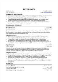 search results typical resume format job resume cv