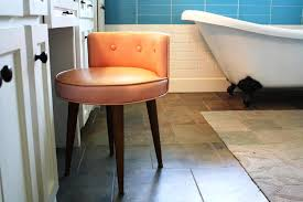 bathroom vanity chair with back. Image Of: Bathroom Vanity Chair With Back