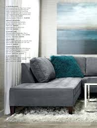 a vapor sectional low lying and linear the frame is built from z gallerie rugs