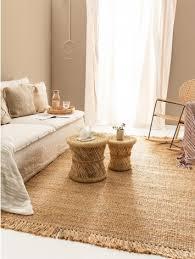 jork jute rug light brown