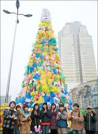 christmas tree made out of recycled boxes - Google Search