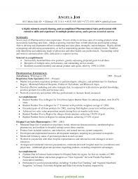Pharmaceutical Resume Examples Top Pharma Sales Resume Pharmaceutical Sales Resume Examples RS 1