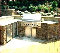 glamorous how to build an outdoor kitchen with metal studs concrete block designs building cinder kitche