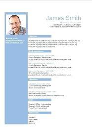 Free Blue Layout Word Resume Template It Cv Gratis Templates