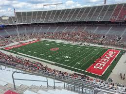 The Shoe Ohio State Seating Chart Ohio Stadium Section 27c Rateyourseats Com