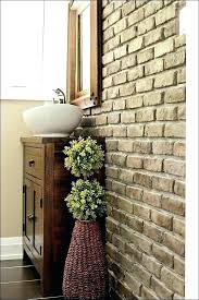 fake brick wall panels brick veneer interior wall brick veneer interior wall full size of hardboard