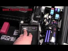 toyota camry fuse box diagram 2011 toyota camry fuses under the hood how to by toyota city