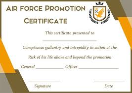 certificate of promotion template promotion certificate template 20 free templates for students