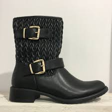 Quilted Biker boots F82166 - The Edit & Quilted Biker boots F82166 ... Adamdwight.com