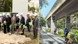 Linear Park Miami Metrorail