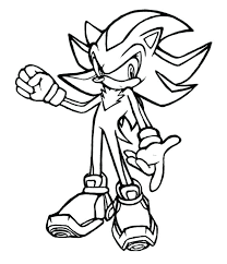 Sonic Coloring Pages Sonic The Hedgehog Coloring Pages Free