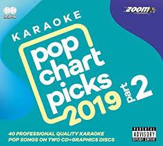 Zoom Karaoke Cd G Pop Chart Picks 2019 Part 2 Double Cd G With 40 Chart Hits Explicit_lyrics