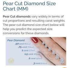 Pear Shaped Diamond Chart Vintage Pear Shaped Diamond Ring